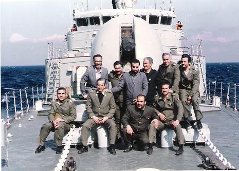 بازدید از ناوگان نیروی دریایی جمهوری اسلامی
